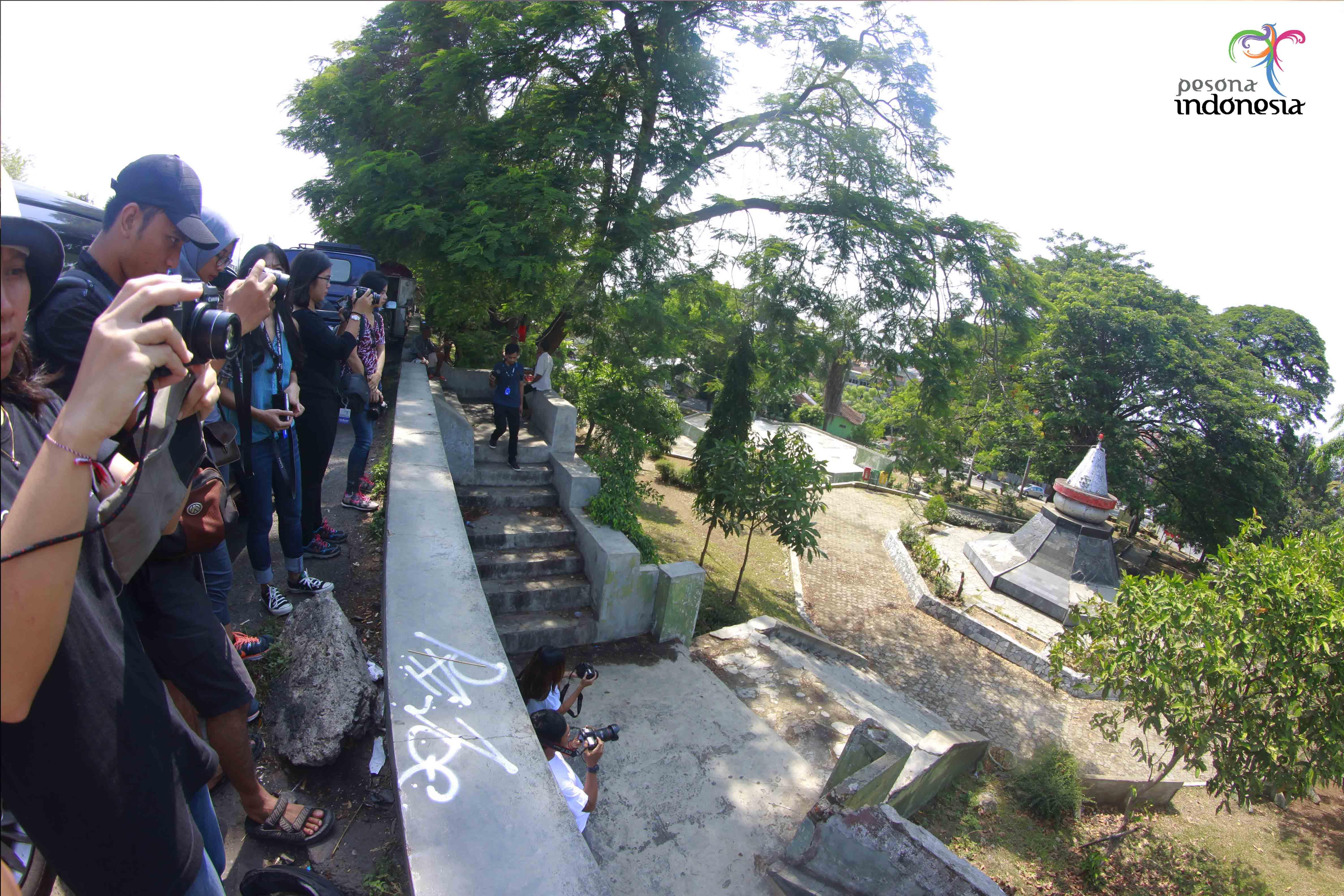 Mari Berkunjung Lampung Adhi Kurniawan Monumen Tsunami Bandarlampung Area Dikenal