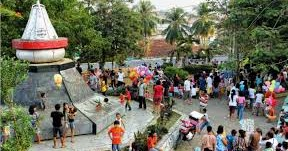 Monumen Krakatau Taman Dipangga Ideolicious Kota Bandar Lampung