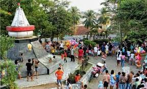Monumen Krakatau Taman Dipangga Ideolicious Teluk Betung Kota Bandar Lampung