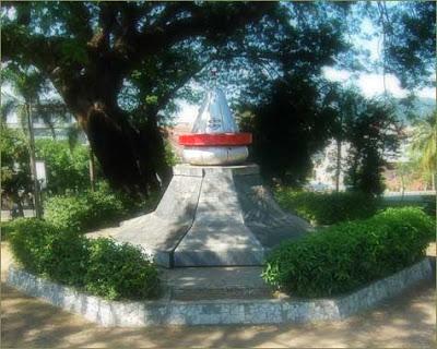 Mylampung3 Blogspot Monumen Peringatan Meletusnya Gunung Krakatau Terletak Jl Supratman