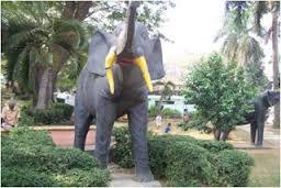 Pesona Sejarah Taman Dipangga Bandar Lampung Universitas Dipanggaa Monumen Patung