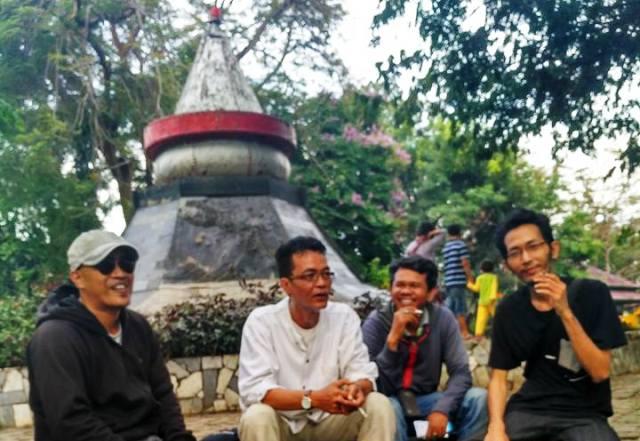 Taman Dipangga Dicaplok Polda Lampung 4 Seniman Budayawan Kiri Kanan