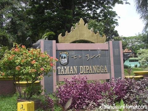 Taman Dipangga Jalan Jajan Hemat Kota Bandar Lampung