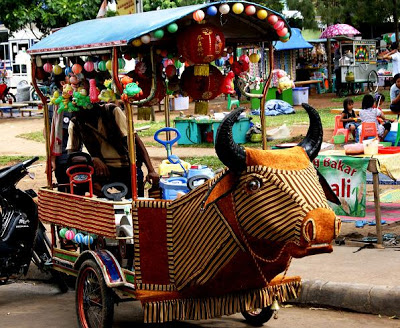 Taman Dipangga Teluk Betung Bandar Lampung Objek Wisata Indonesia Angkutan