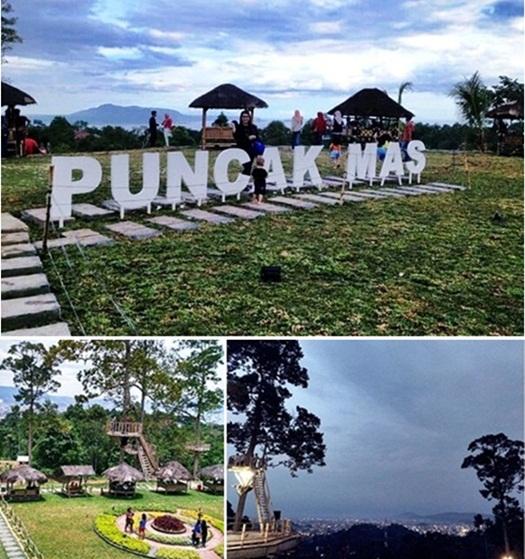 Tempat Wisata Lampung Eloratour Puncak Mas Bandar Taman Dipangga Kota