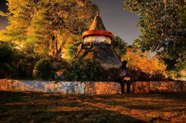 Wisata Kota Taman Dipangga Tempat Nongkrong Masyarakat Bandar Menikmati Waktu