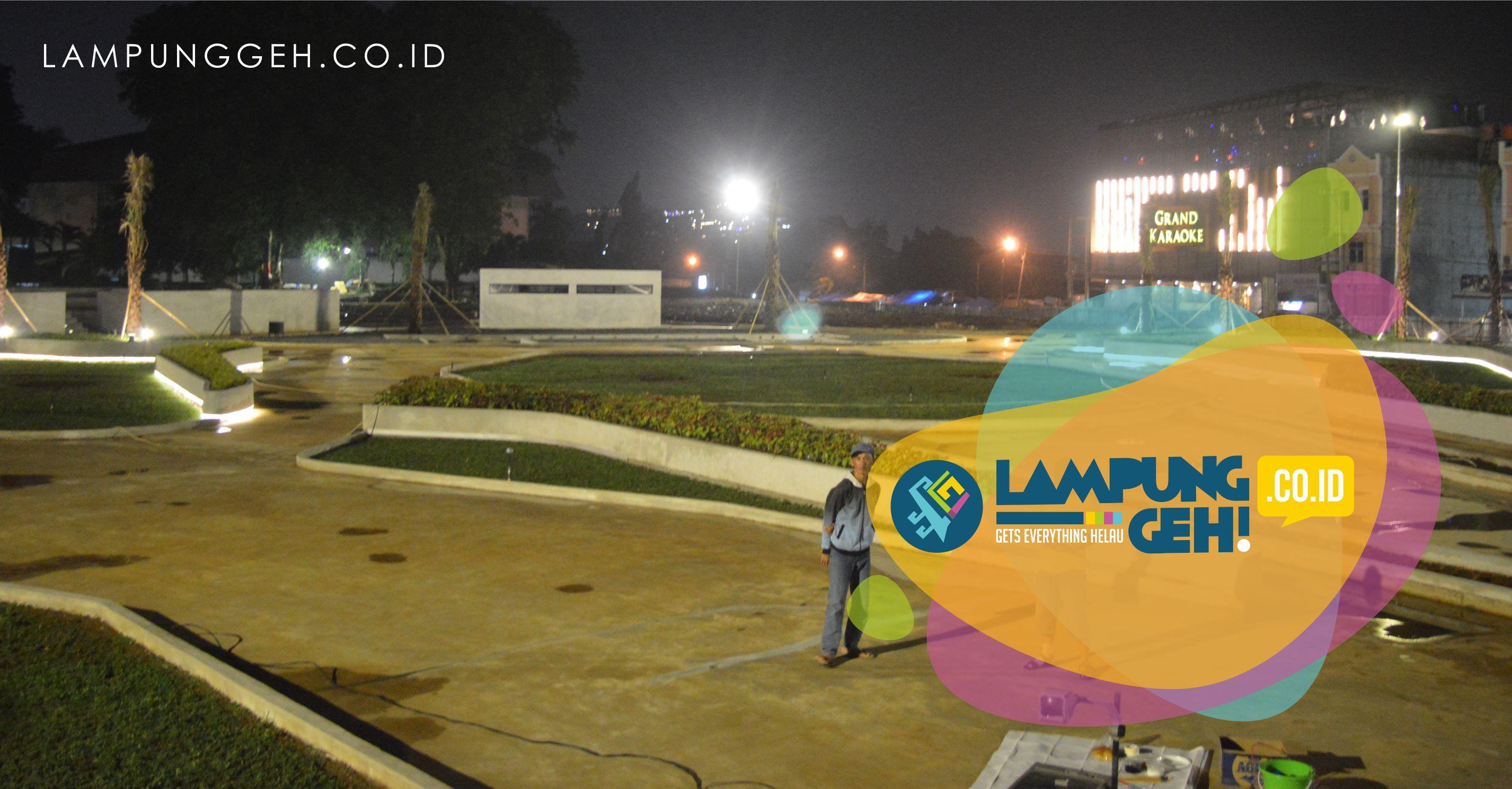 10 Februari 2018 Taman Gajah Diresmikan Aja Lampung Geh Kota