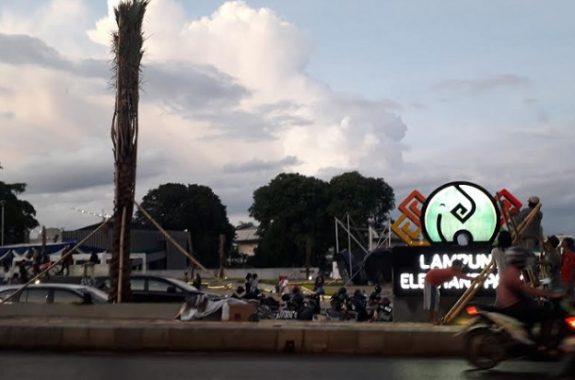 Besok Gubernur Lampung Resmikan Taman Gajah Bangun Perpustakaan Elephant Park