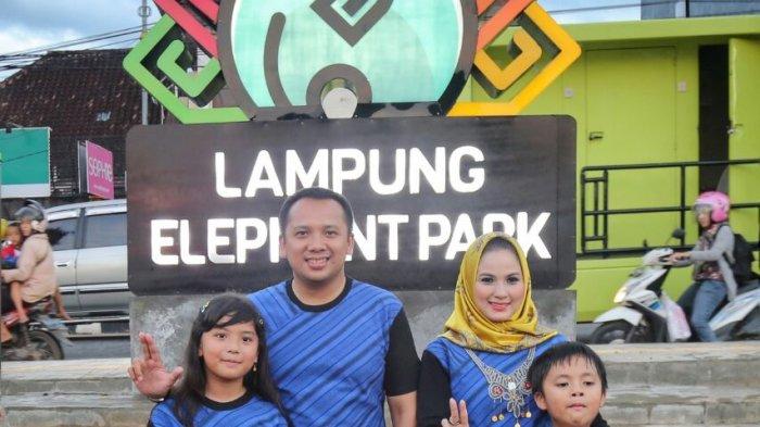 Gubernur Ridho Resmikan Taman Gajah Tribun Lampung Kota Bandar