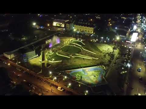 Lampung Elephant Park Taman Gajah View Drone Youtube Kota Bandar