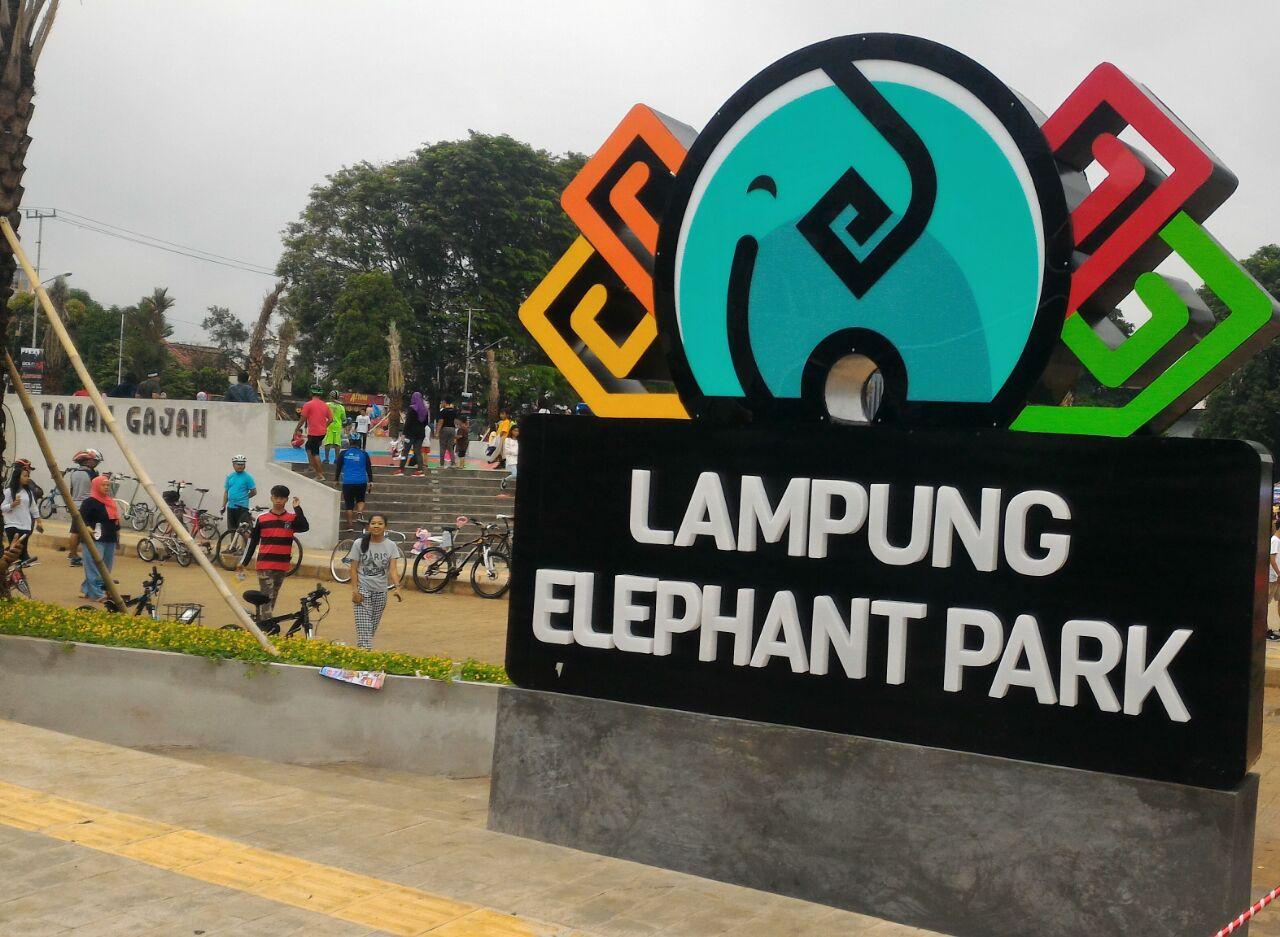 Rth Taman Gajah Rekreasi Favorit Warga Bandar Lampung Kota