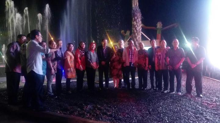 Senang Adanya Taman Gajah Warga Lampung Kota Bandar