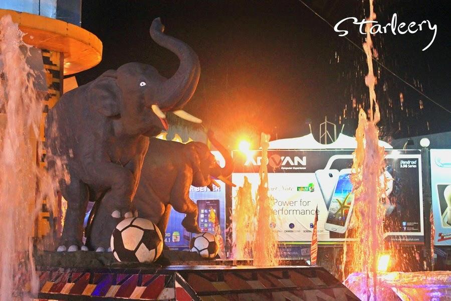 Starleery Menikmati Malam Tugu Gajah Bandar Lampung Hal Pertama Menarik