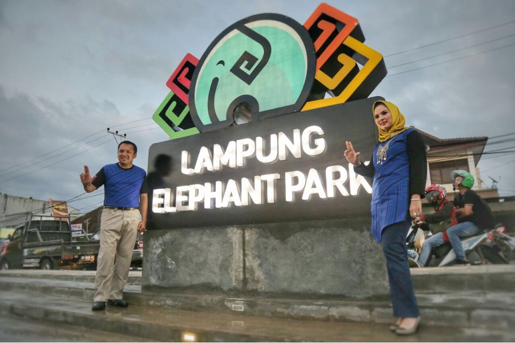 Taman Gajah Bandar Lampung Lampungsegalow Id Kota