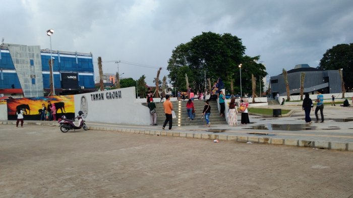 Video Spot Foto Kekinian Lukisan 3d Taman Gajah Tribun Lampung