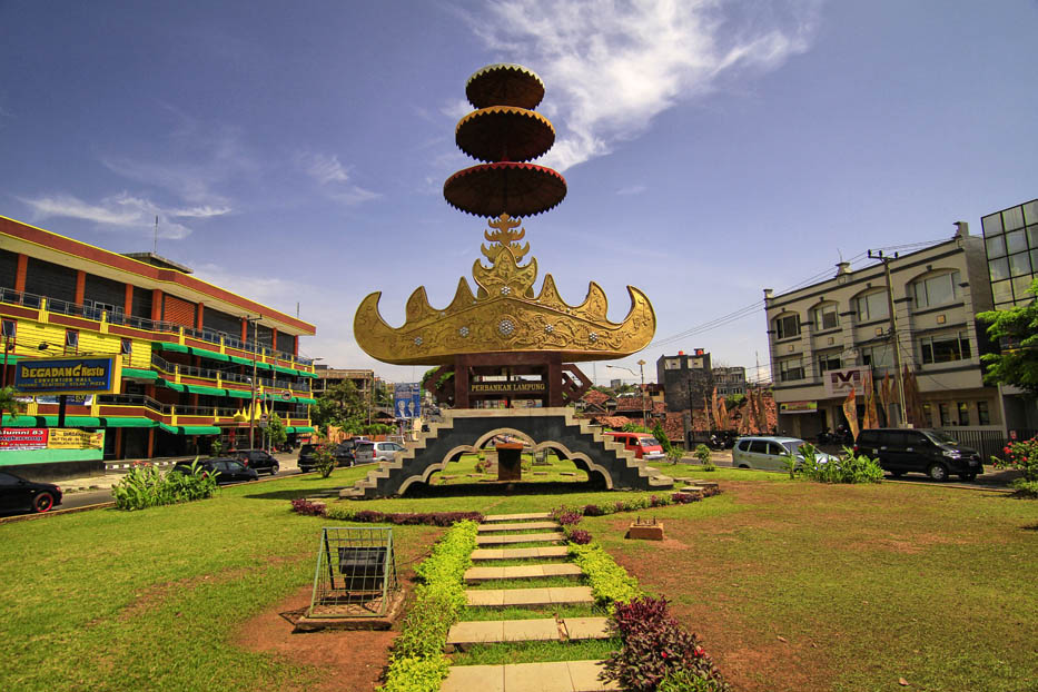 Wonderful Indonesia Lampung Bandarlampung Taman Gajah Kota Bandar