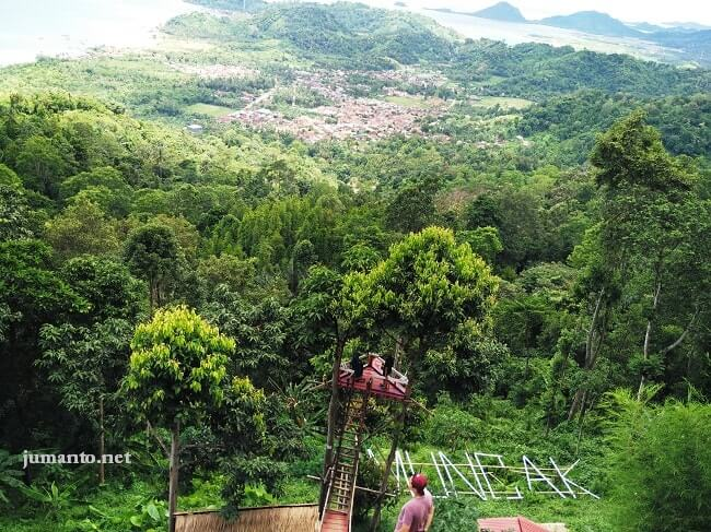10 Tempat Wisata Bandar Lampung Favorit Taman Hutan Kera Kota