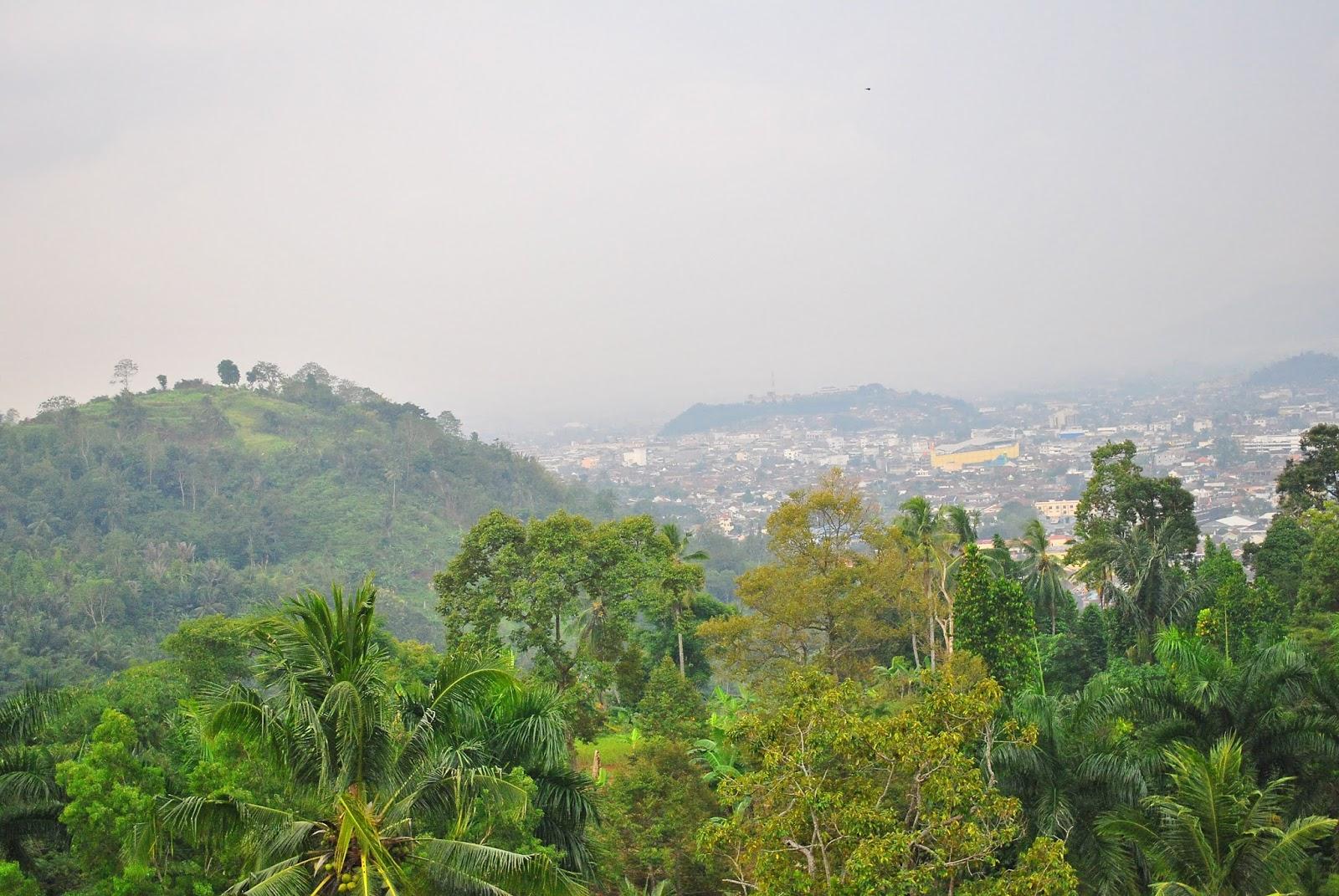 Jenis Wisata Menarik Bandar Lampung Duniaindra View Pusat Kota Pucak