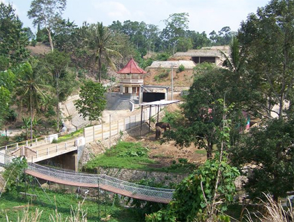 Taman Wisata Bumi Kedaton Kota Bandar Lampung Indonesia Foto 2