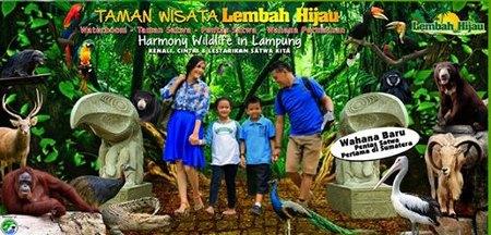 Lembah Hijau Lampung Taman Wisata Kota Bandar