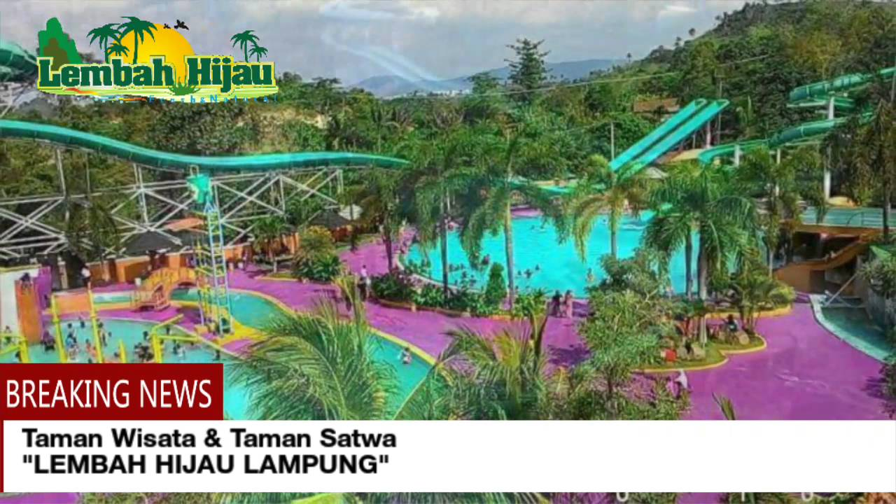 Lembah Hijau Lampung Youtube Taman Wisata Kota Bandar