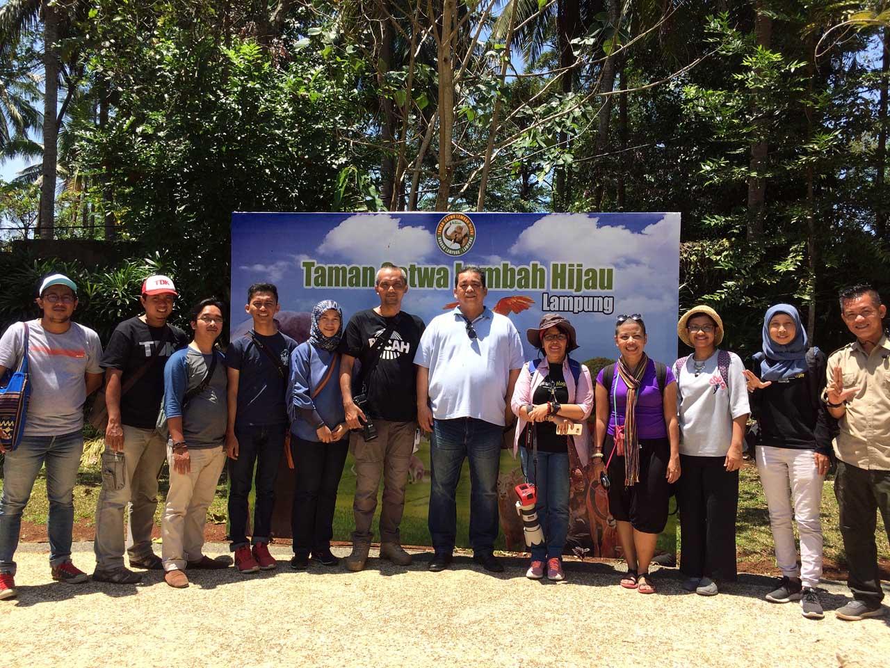 Libur Akhir Pekan Taman Satwa Lembah Hijau Lampung Cerita Jalan