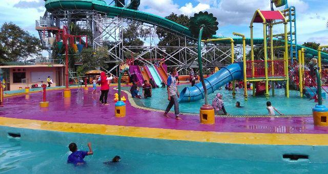Libur Lembah Hijau Bandar Lampung Hadirkan Bebizie Pengunjung Taman Wisata