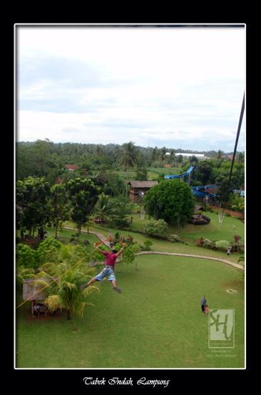 Sensasi Berlibur Kampoeng Wisata Tabek Indah Lampung Satu Tempat Terletak