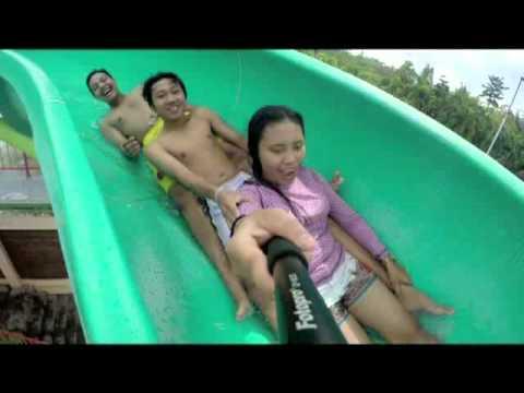 Spiral Slide Taman Wisata Lembah Hijau Lampung 2 Youtube Kota
