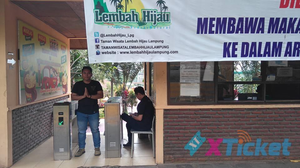 Taman Wisata Lembah Hijau Bandar Lampung Mengimplementasikan Xpress Ticket Kota