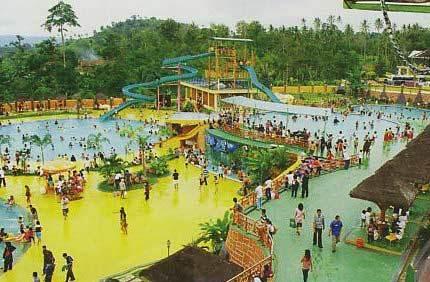 Taman Wisata Lembah Hijau Lampung Yg Menarik Kota Bandar