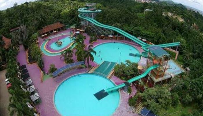 Tempat Wisata Favorit Lampung Ya Taman Lembah Hijau Waterboom Kota