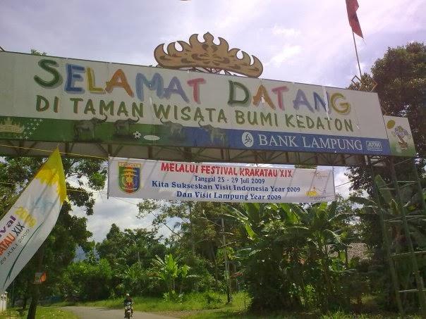 Wisata Alam Lembah Hijau Taman Kota Bandar Lampung