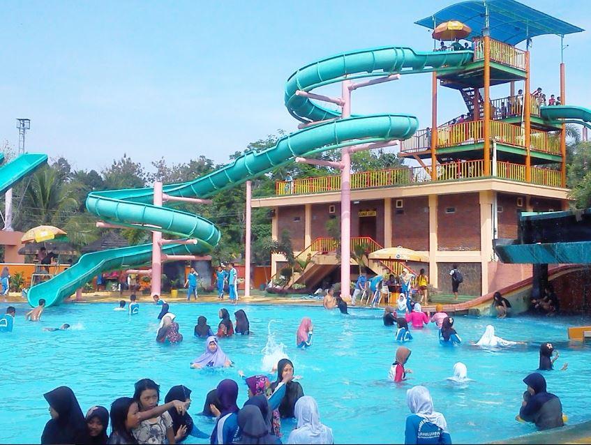 Wisata Keluarga Taman Lembah Hijau Bandar Lampung Kota