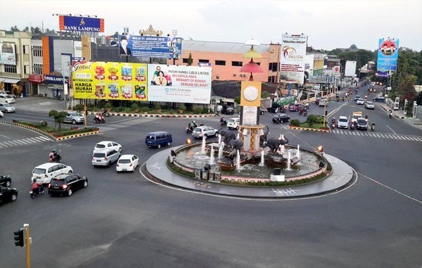 10 Gambar Tugu Adipura Gajah Bandar Lampung Dibongkar Letak Terlihat
