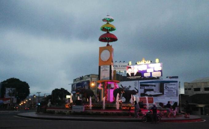 Bandar Lampung Penghargaan Wahana Tata Nugraha Tribun Tugu Adipura Kota