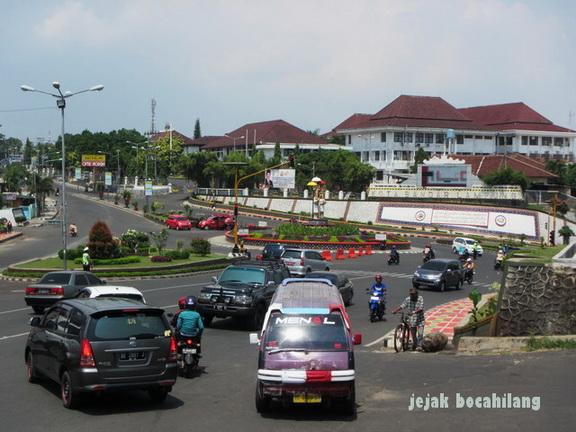 Kota Sejuta Siger Bandar Lampung Jejak Bocahilang Bundaran Kantor Walikota