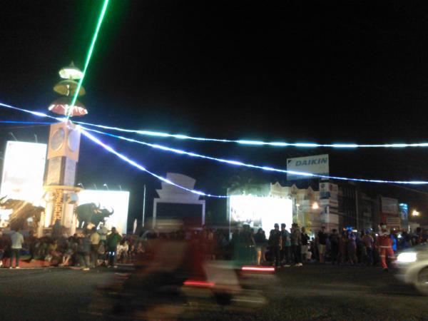 Mulai Penuhi Tugu Adipura Bandar Lampung Masyarakat Kota