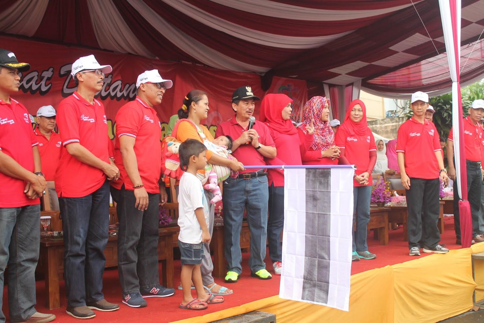 Pawai Budaya Memeriahkan Hari Ulang 333 Kota Bandarlampung Dimulai Tugu