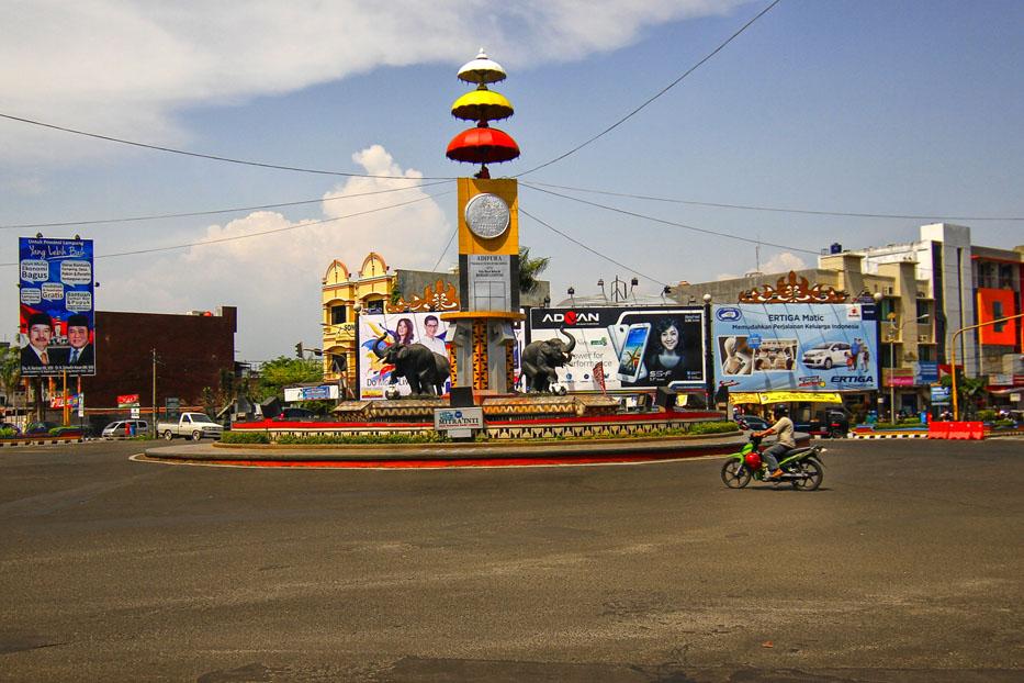 Profil Kota Bandar Lampung 2016 Tugu Adipura Landmark Terdapat Pusat