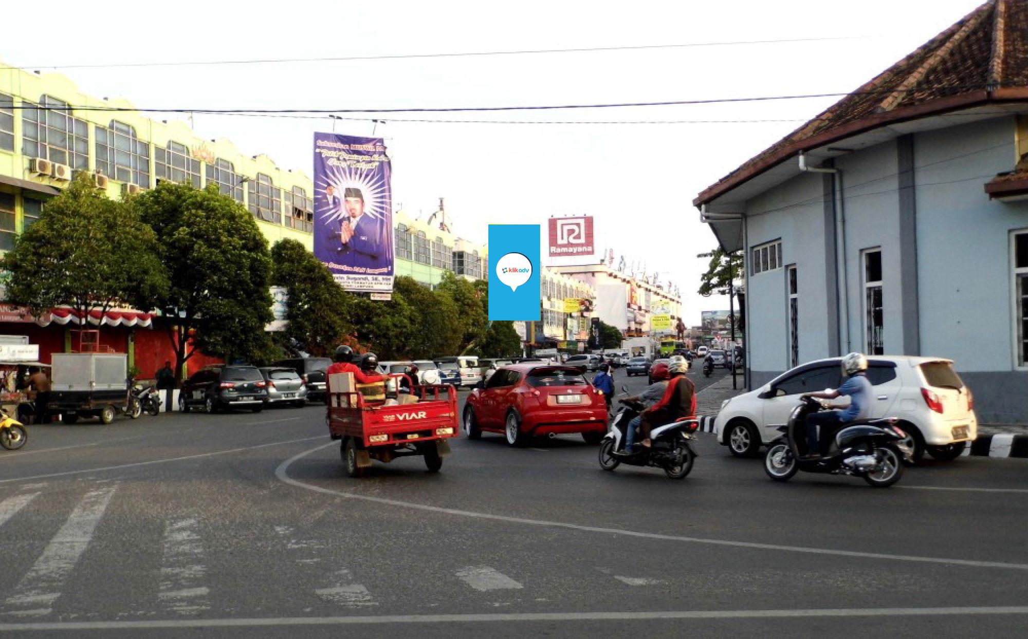 Sewa Billboard Lampung Kota Bandar Jl Raden Intan 006 Bb