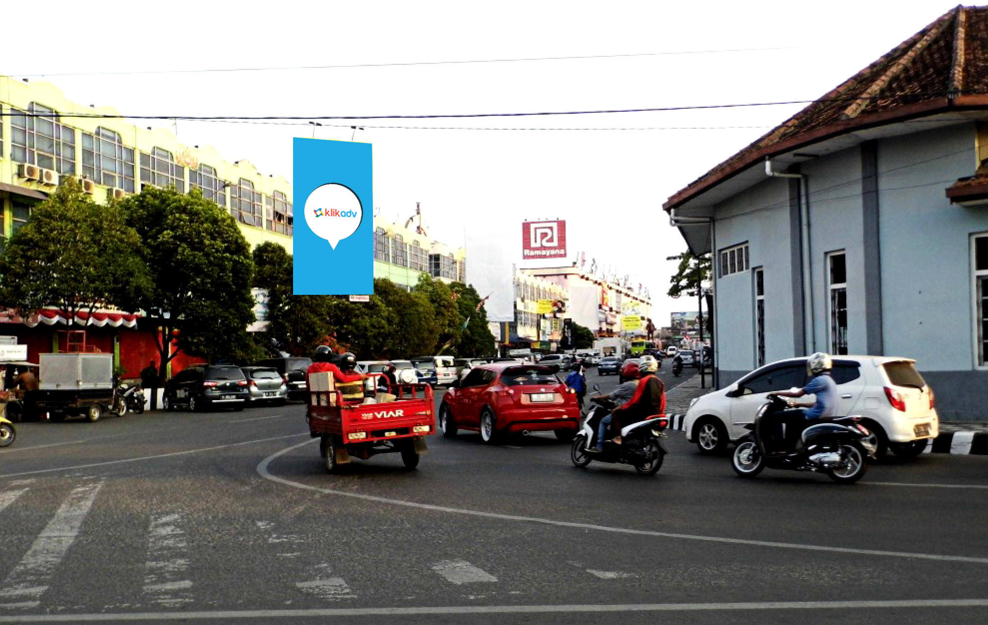 Sewa Billboard Lampung Kota Bandar Jl Raden Intan 007 Bb