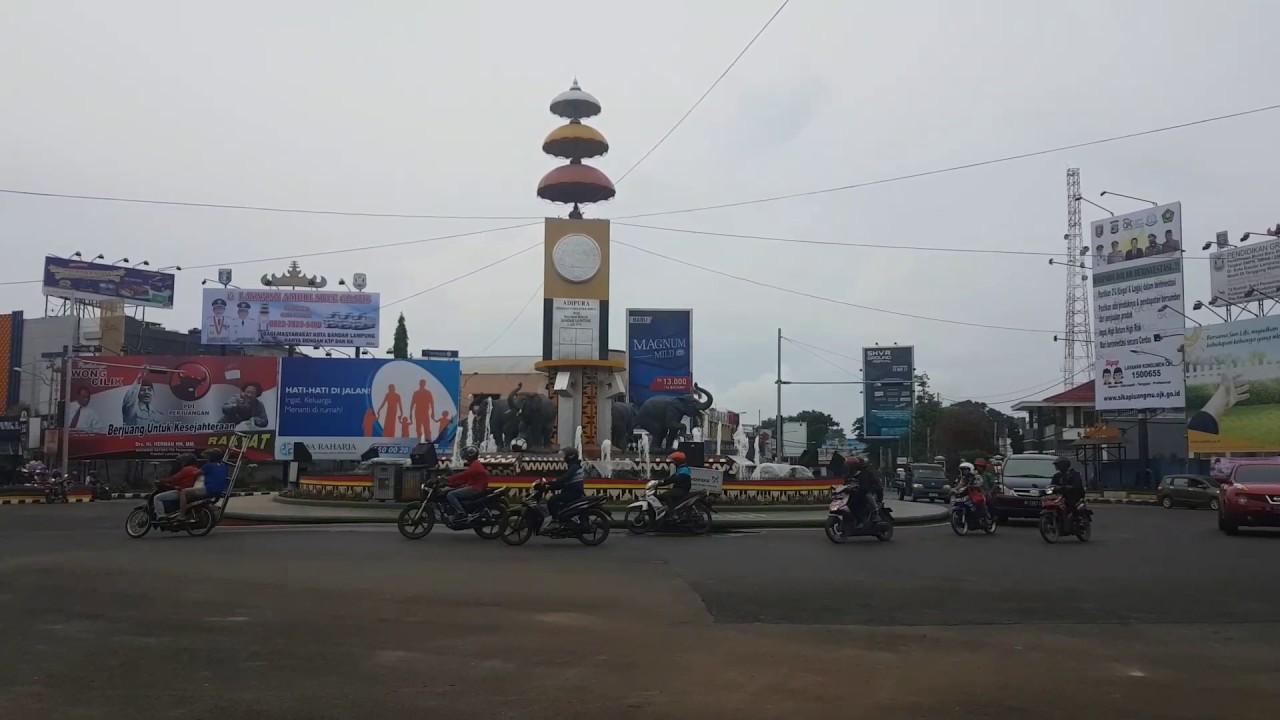 Tugu Adipura Full Hd Video Bandar Lampung Propinsi Youtube Kota