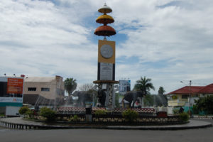 Tugu Adipura Gajah Dinamakanan Karna Kota Bandar Lampung Menjadi Teladan