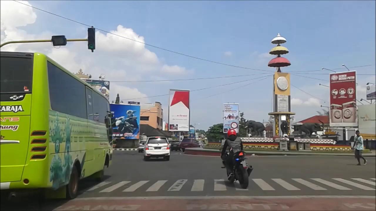 Tugu Adipura Kota Bandar Lampung Youtube
