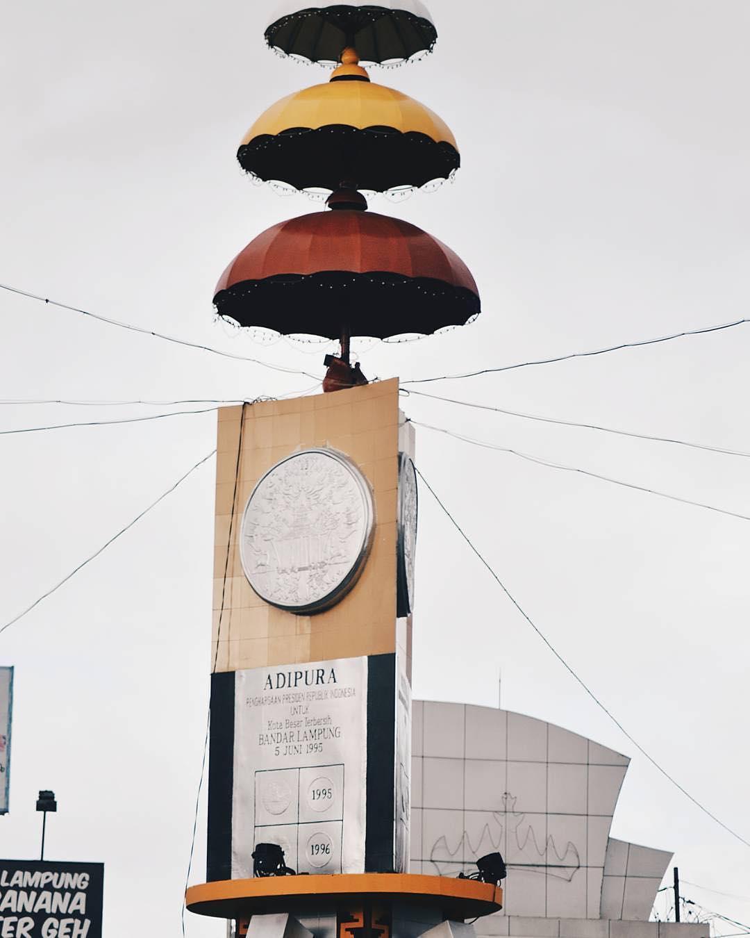 Tugu Adipura Terletak Zona Liputan Terkini Pusat Kota Bandar Lampung