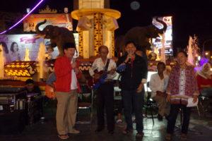Wali Kota Bandar Lampung Herman Hn Bernyanyi Minum Kopi Bareng