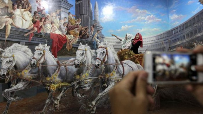 12 Spot Foto Menarik Amazing Art World Bandung Tribun Jabar