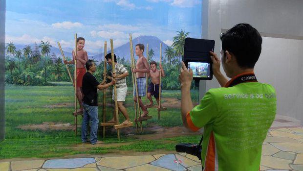 Amazing Art World Bandung Mueseum 3d Terbesar Indonesia Bayudi Kehadiran