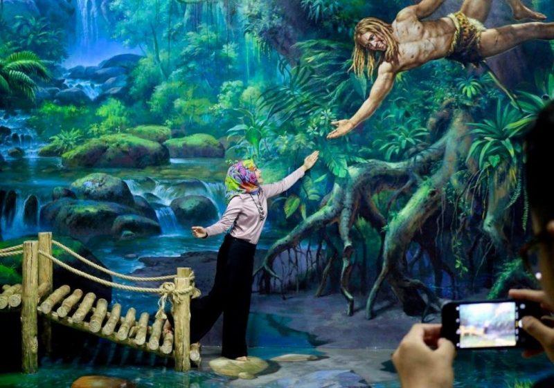 Amazing Art World Bandung Museum 3d Geulis Pisan Wisatalah Musium